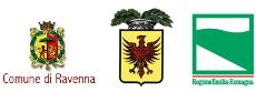 con il patrocinio del Comune, della Provincia di Ravenna e della Regione Emilia Romagna.